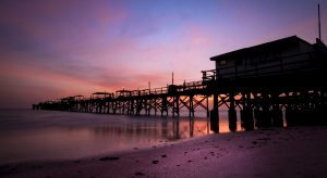 Long Pier at Sunset