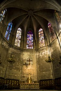 An Altar in Barcelona Cahtedral